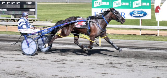 BIG WIN: Beauty Bound and Emma Turnbull surge to the line impressive winners last weekend at Parkes