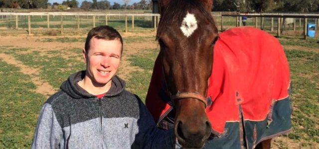 Personal milestone for young horseman