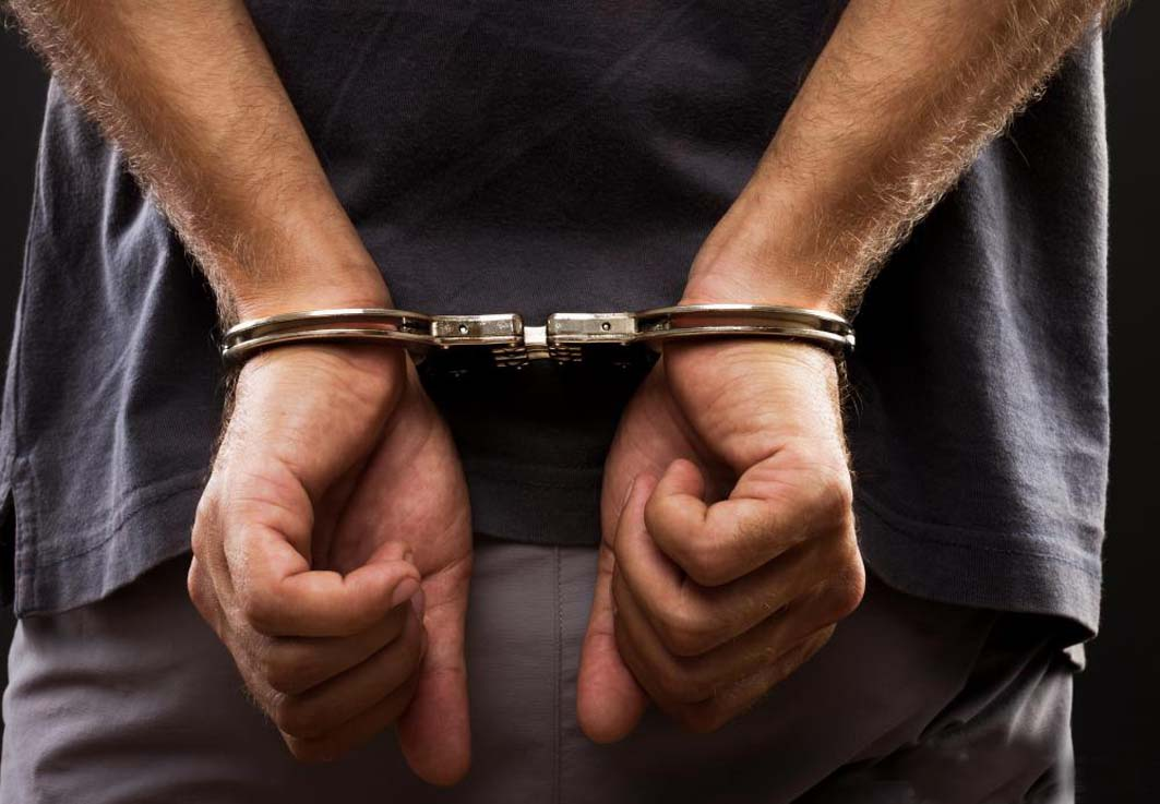 Arrested on corruption charges