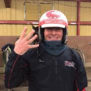 Champion reinsman reaches season milestone