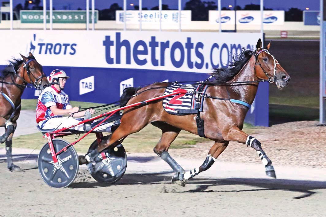First step towards reclaiming Breeders' Crown title