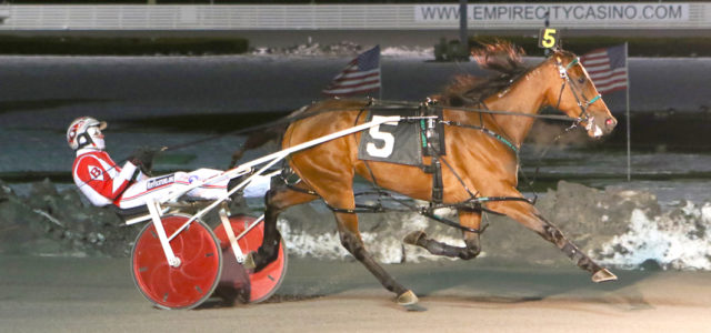 Former Aussie too slick at Yonkers