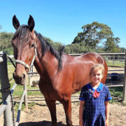 Eight-year-old primed for three-year-old race!