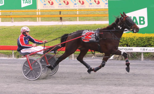 Trotter's victory breaks frustration