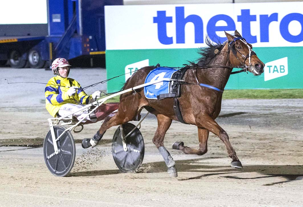 Top trotter's tough task