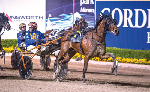 Trotter's first step towards the top