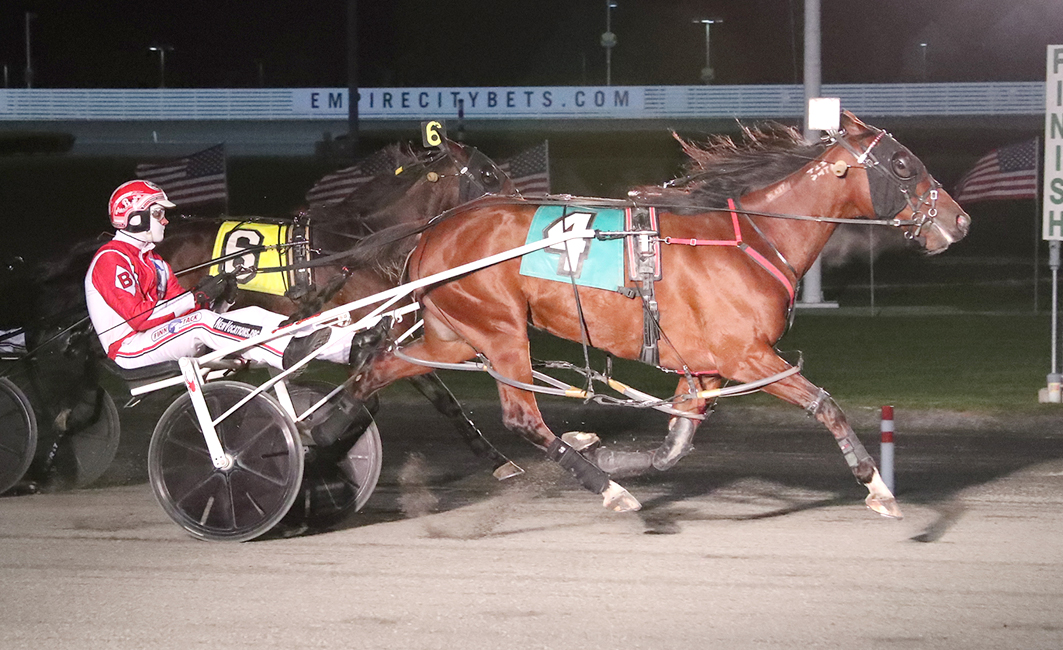Kiwi mare too slick at Yonkers