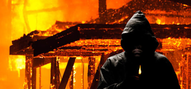 Arson threat ends in suspension
