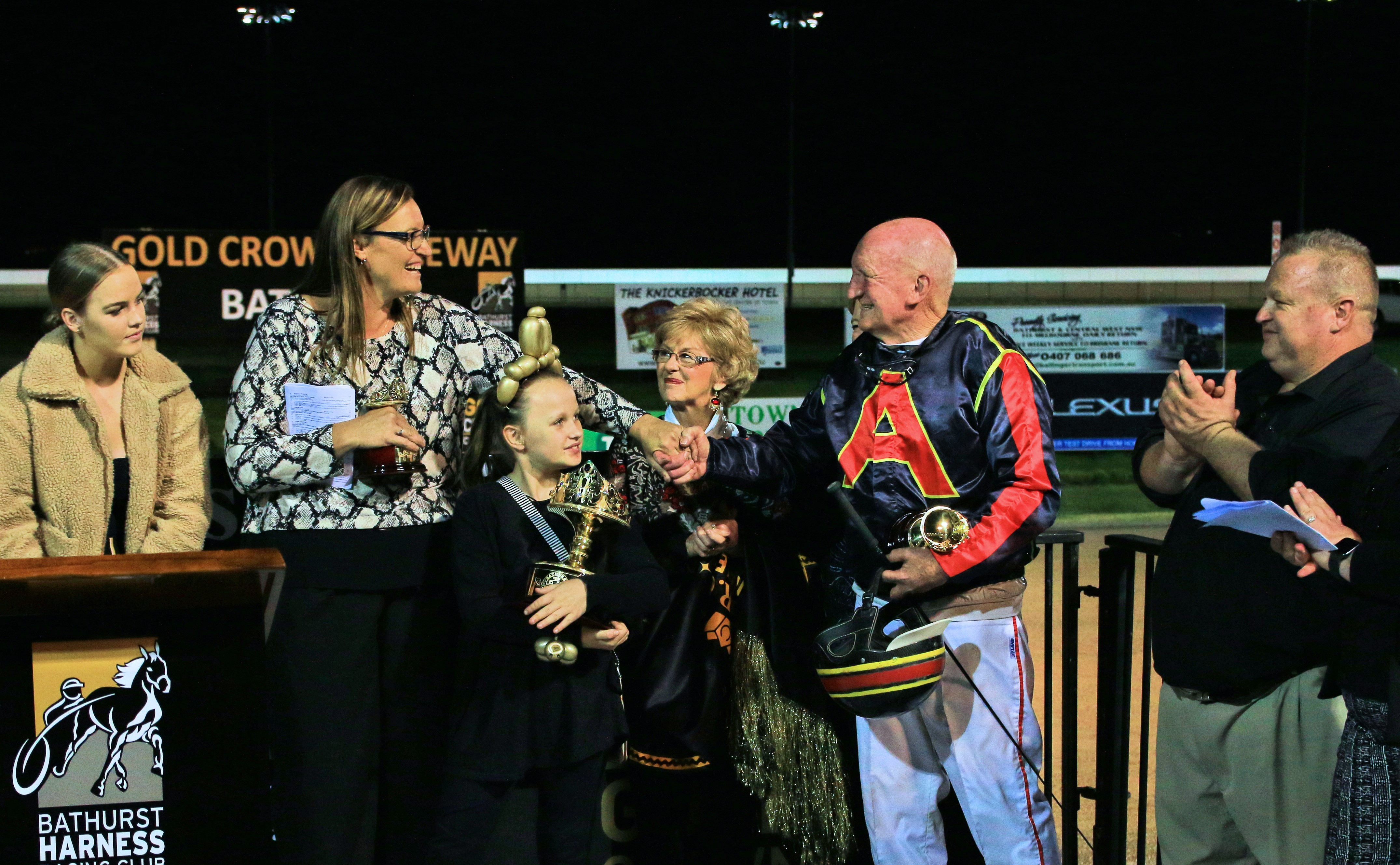 Colin and Cheryl McDowell the Bathurst Gold Crown honourees