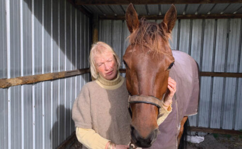 Trainer rewarded for her patience
