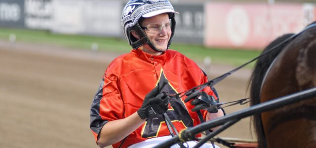 A winning double – and he's still only 16!