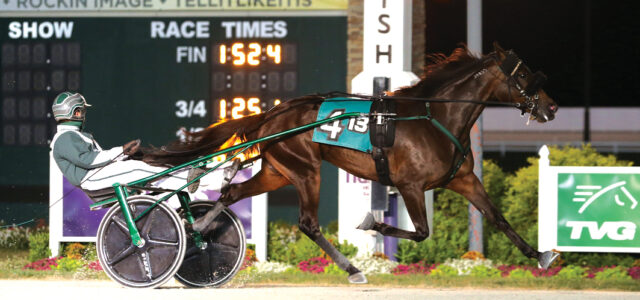 Talented trotter maintains perfect record