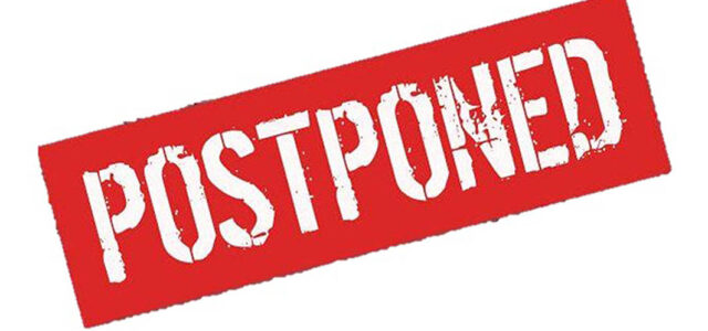 Another 'metro' meeting postponed