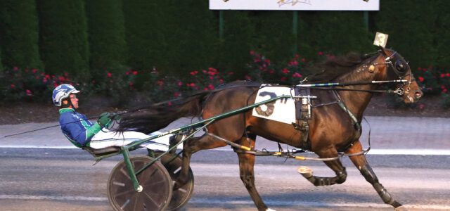 Captain takes charge in Little Brown Jug