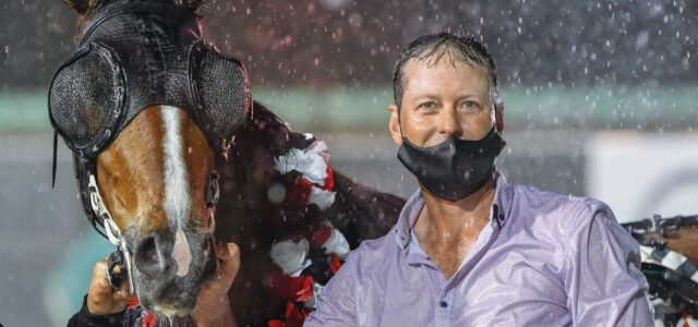 Troy happy to be 'singing in the rain'