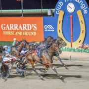 Mick Ko'cass with all the Late Mail for Breeders Challenge night