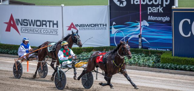 Mick Ko'cass with three specials for Menangle