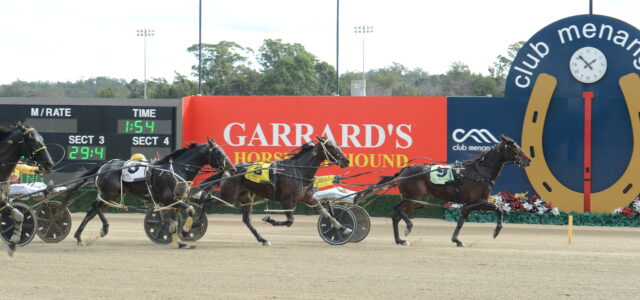 Jake enjoys 'tapping in' to harness racing