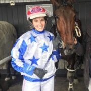 Abby's 'Rocking' after landing that first winner