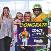 Tetrick's terrific milestone