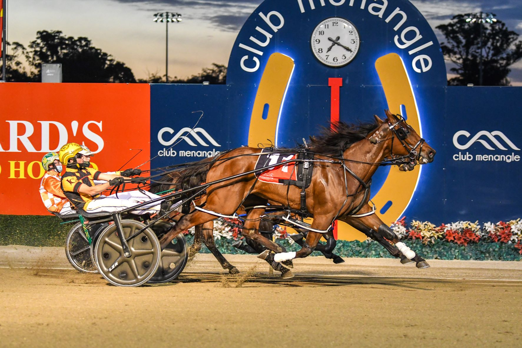Here's all the winners for Menangle Saturday night